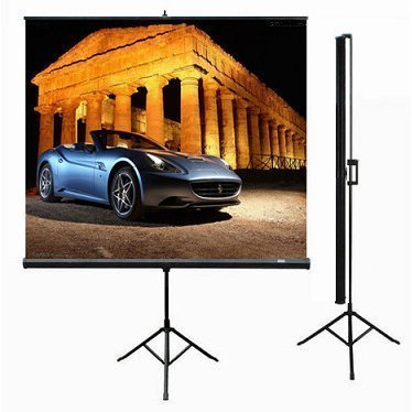Tripod Projection Screen 70""